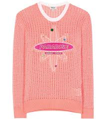 kenzo cheap flying tiger sweater kenzo embellished sweater pink