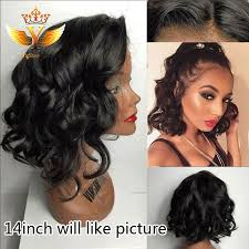 are there any full wigs made from human kinky hair that is styled in a two strand twist for black woman sexy body wave lace front wig cheap brazilian virgin human hair