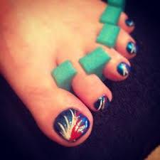 bronco nails nails pinterest broncos nails denver broncos