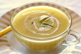cuisiner du patisson velouté de pâtisson au curry gingembre la gourmandise selon angie