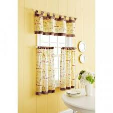 Coffee Themed Kitchen Curtains by Kitchen Cafe Curtains White Kitchen Designs