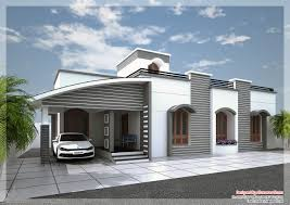 modern single floor kerala villa at 1350 sq ft