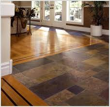 tile and wood flooring combination ideas tiles home decorating