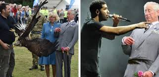 Prince Charles Meme - prince charles almost got attacked by an eagle and a beautiful