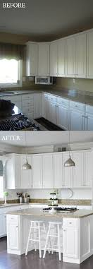 kitchen facelift ideas remodelaholic white kitchen makeover small updates to a big