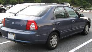 kia spectra description of the model photo gallery