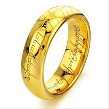 elvish wedding rings plain elvish script tungsten carbide laser