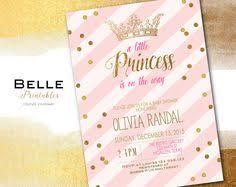 princess baby shower invitation baby shower invitation