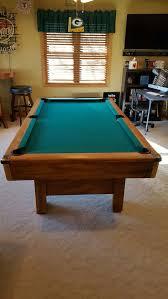 brunswick 7ft pool table 7ft brunswick buckingham pool table set up available sports