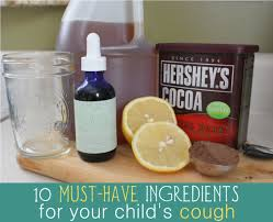 10 Must Ingredients For A by 10 Must Ingredients To Help Kid S Coughs Alternative And