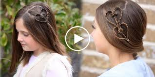 hairstyles for girl video best valentines day hairstyles