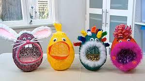 paper mache easter baskets how to make easter egg basket i crafting