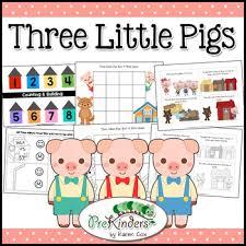 pigs activity pack pre preschool karen