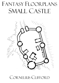 small medieval castle fantasy floorplans dreamworlds