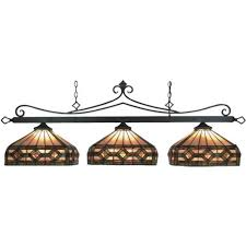 tiffany pool table light craftsman style lighting for pool table bronze tiffany style pool