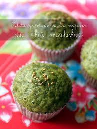 cuisine a la vapeur petits gâteaux vapeur au thé matcha green tea steamed cakes