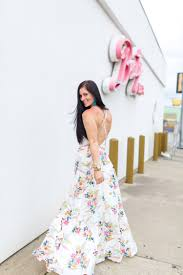 dress gal white floral maxi dress gal about town