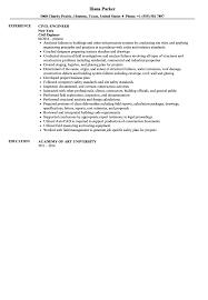 civil engineer resume sample velvet jobs