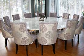 Excellent Big Round Dining Room Table Contemporary D House - Large round kitchen tables