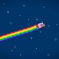 Nyan Cat Meme - charming nyan cat flying wallpaper meme wallpapers 47320 in