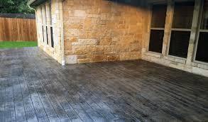 Colored Concrete Patio Pictures Stamped Concrete Patio Cost U0026 Designs Concrete Craft