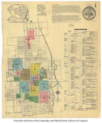 Unt Campus Map Sanborn Maps Of Texas Perry Castañeda Map Collection Ut