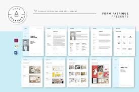 Website Resume Template Resume Templates Creative Market