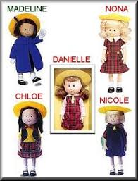 madeline doll and the smallest one was madeline