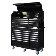 rolling tool storage cabinets husky 52 in 18 drawer tool chest and rolling tool cabinet set