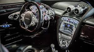 future pagani a perfect blend of past and future the interior of the pagani huayra