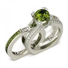 birthstone ring silver peridot august birthstone ring sincitygear