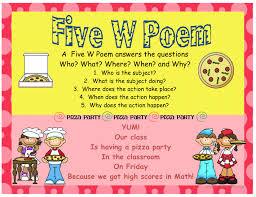 poetry mrs warner u0027s 4th grade classroom