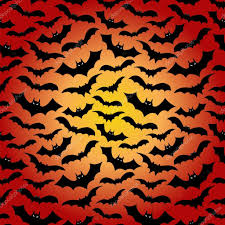 halloween bat pattern black silhouette u2014 stock vector mast3r