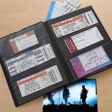 ticket stub album my stubs personalized ticket album display coffee and album