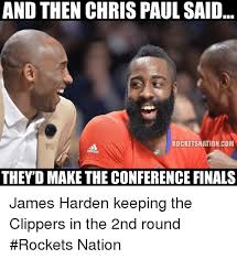 Chris Paul Memes - and then chris paul said rocketsnationcom they d make the conference