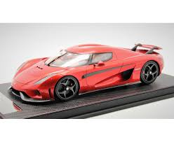 koenigsegg red regera in red limited 399 pcs by avanstyle closed version