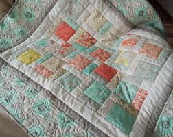 cottage chic quilt etsy