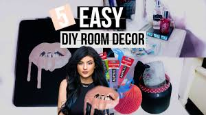 Kylie Jenner Inspired Bedroom 5 Easy Diy Room Decor Kylie Jenner Inspired Room Decor Youtube