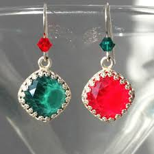 images of christmas earrings winter holiday christmas jewelry tutorials free diy jewelry