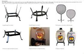 vulcan heat studio fireplaces open wood ceramic firepots