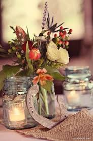 Rustic Mason Jar Centerpieces For Weddings by Best 25 Horseshoe Wedding Ideas On Pinterest Western Wedding