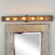 galvanized rustic vanity light for the bathroom bedroom redesign
