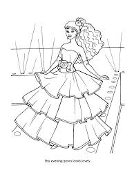 coloring pages barbie coloring page breathtaking barbie coloring