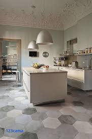 carrelage de cuisine cuisine equipee avec carrelage bleu sol fraîche carrelage cuisine