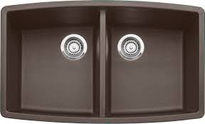 build ca blanco 400475 performa u 2 undermount double bowl