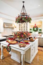 Christmas Tree Orange Decorations For Kitchen Our Favorite Christmas Kitchens Southern Living