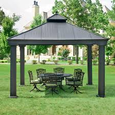 Patio Gazebo Replacement Covers by Outdoor Lowes Gazebos Sunjoy Gazebo Replacement Gazebo Canopy