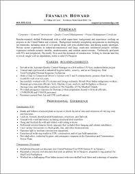 functional resume exles sle functional resume functional resume sle foreman career