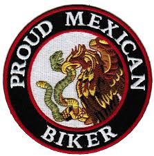 amazon com proud mexican biker embroidered patch mexico flag iron