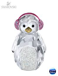 swarovski christmas rocking penguin